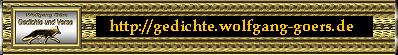 Gedichte, Verse & Zitate, von Wolfgang Görs